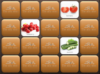 Foods 2- Computer Memory Game