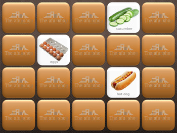 Foods 4- Computer Memory Game