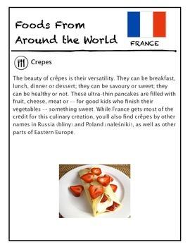 Foods Around the World Passport