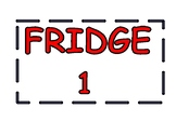 Foods Room Appliance Signs