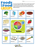 My Plate: Food Group Match