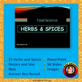 Herbs and Spices - Food Science PowerPoint