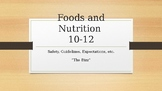 Foods and Nutrition Introduction Powerpoint.