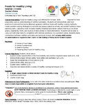 Foods for Healthy Living Syllabus - Can edit