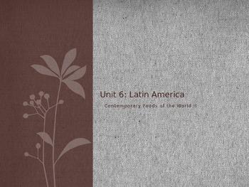 Foods of Latin America