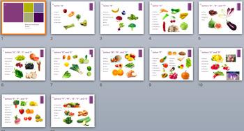 Foods of the Alphabet