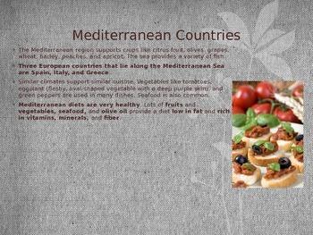 Foods of the Mediterranean