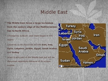 Foods of the Middle East and Africa