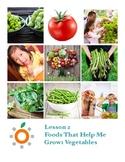 Nutrition Health Lesson: Vegetables