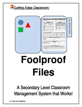 Foolproof Files - A Classroom Management System