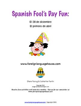 Fool's Day Spanish Fun: El Día de los Inocentes