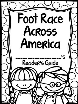 Foot Race Across America Supplemental Journey's Activities Third Grade Lesson 26