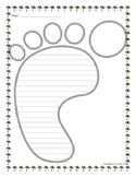 Foot Writing Paper