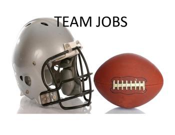 Footbal themed job