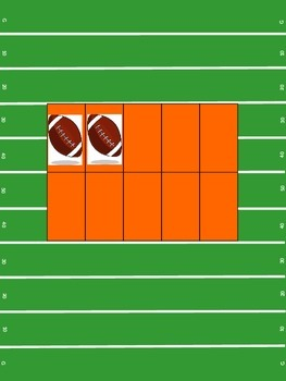 Football 10Frame- orange