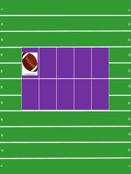 Football 10Frame- purple