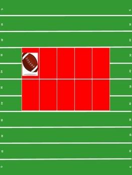 Football 10Frame- red