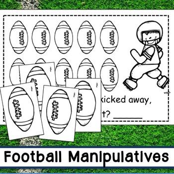 Football Subtraction Emergent Reader