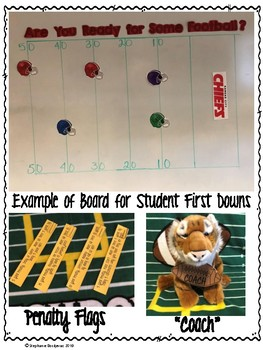 Football 4 Digit Addition and Subtraction