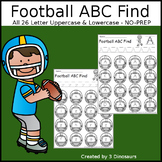 Football ABC Letter Find