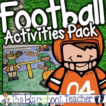 Football Math & Literacy Activities