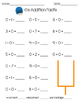 Football Addition Worksheets