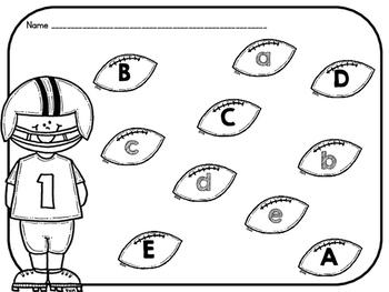 Football Alphabet Center