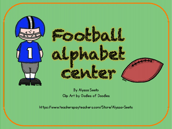Football Alphabet Center