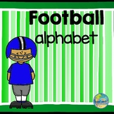 Alphabet Letter Match--Football Theme