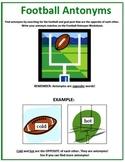 Football Antonyms