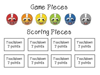 Football Articulation Game - R, SH, CH, TH