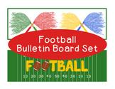 Football Autumn Fall Bulletin Board Border Printable Full Color PDF Sports