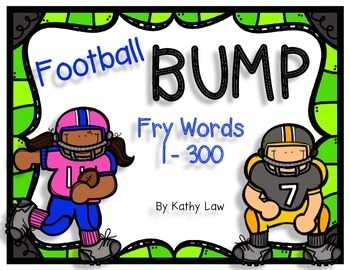 Football BUMP - Fry Words 1-300
