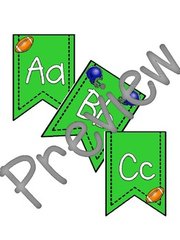 Football Banner Pennants *Bundle*
