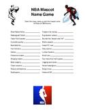 Football & Basketball Mascot Name Games
