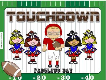 Football Behavior Chart