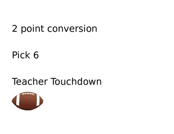 Classroom Management Football Behavior Plan