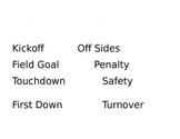 Classroom Management Football Behavior Plan