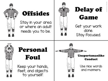 Football Behavior Plan