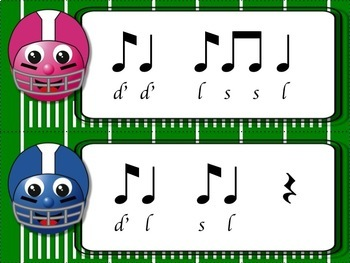 Football Blitz!  Melodic Games for Practicing high do