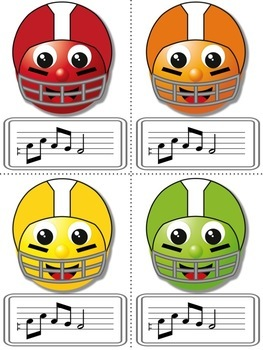Football Blitz!  Melodic Games for Practicing re (pentatonic)