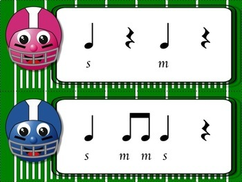 Football Blitz!  Melodic Games for Practicing so-mi