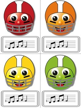 Football Blitz!  Melodic Games for Practicing ti
