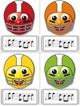 Football Blitz!  Melodic Practice Games: BUNDLE