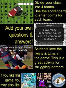 Football Bomb Game Template