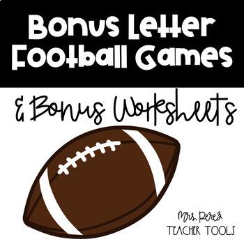 Football Bonus Letter Game