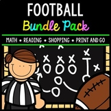 Football Bundle - Shopping - Math - Party Planning - Word Problems - Special Ed