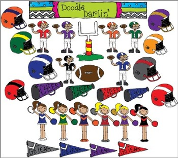 Football COLOR ONLY Set