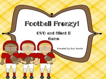 Football CVC and Silent E Game