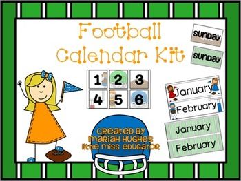 Football Calendar Kit